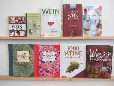 27 Bücher Wein Weinsorten Weinanbau Weinalmanach Anbaugebiete