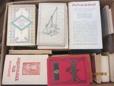 53 Bücher antiquarische Bücher Paket 1