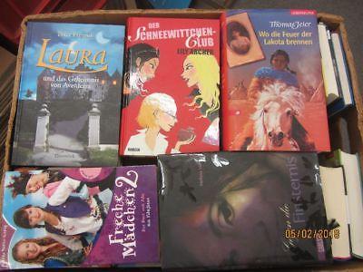 45 Bücher Jugendromane Jugendbücher junge Leser für Mädchen Top Titel