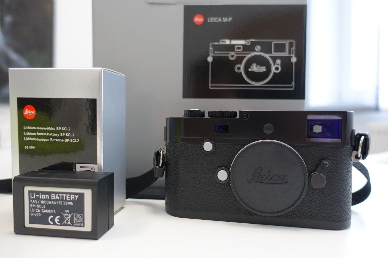 Leica M  M-P 24.0MP Digitalkamera - Schwarz (Typ 240)