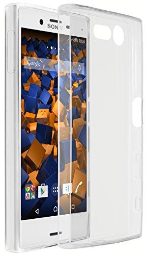 mumbi UltraSlim Hülle für Sony Xperia XCompact Schutzhülle transparent (Ultra Slim - 0.55 mm)
