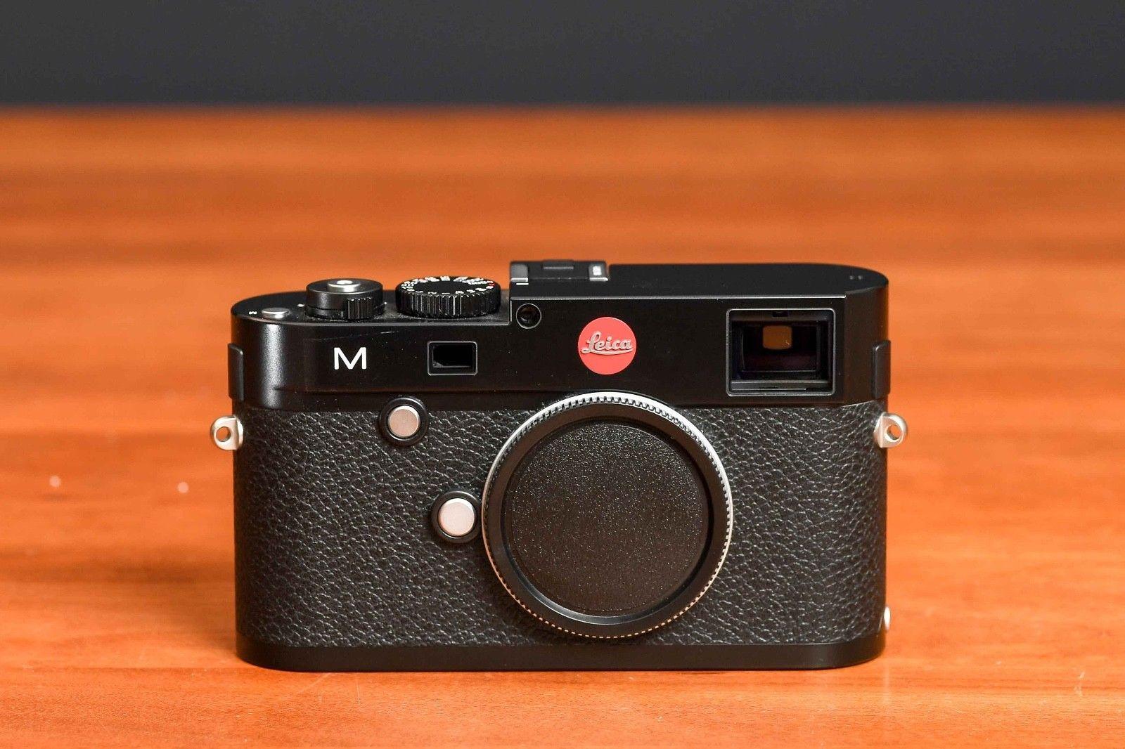 Leica M (Typ 240) 24.0 MP Digitalkamera - Schwarz - Unter 1.000 Auslösungen!