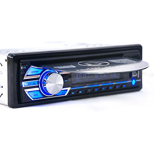 cherryou 1 DIN 12 V Auto Stereo Haupteinheit CD DVD Player Radio MP3/USB/SD/AUX/FM/IPOD/IPHONE