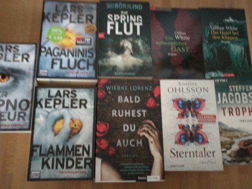 Krimi-/Thriller-Paket -Kepler, Lorenz, Ohlsson....