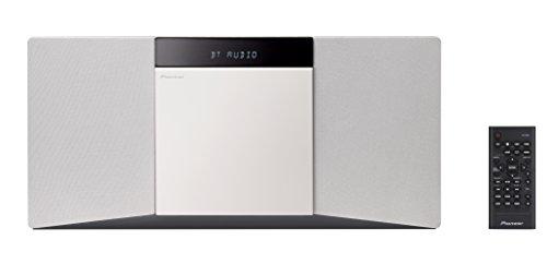 Pioneer 1500390 Slim All-In One System mit Bluetooth und USB-Anschluss weiß