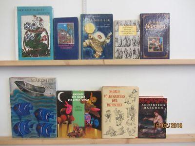 43 Bücher Märchenbücher Märchen nationale und internationale Märchen