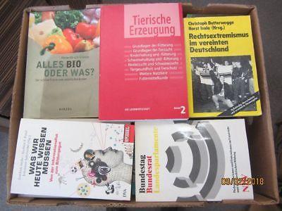 66 Bücher Sachbücher Softcover Wissenschaft Wirtschaft Politik Zeitgeschichte