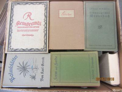 60 Bücher antiquarische Bücher Paket 1