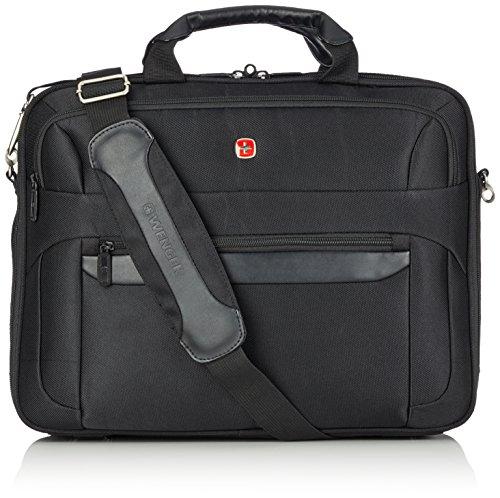 Wenger RV-Businesstasche mit Laptopfach 17 Zoll Basic, schwarz, 18 liters, W73012217