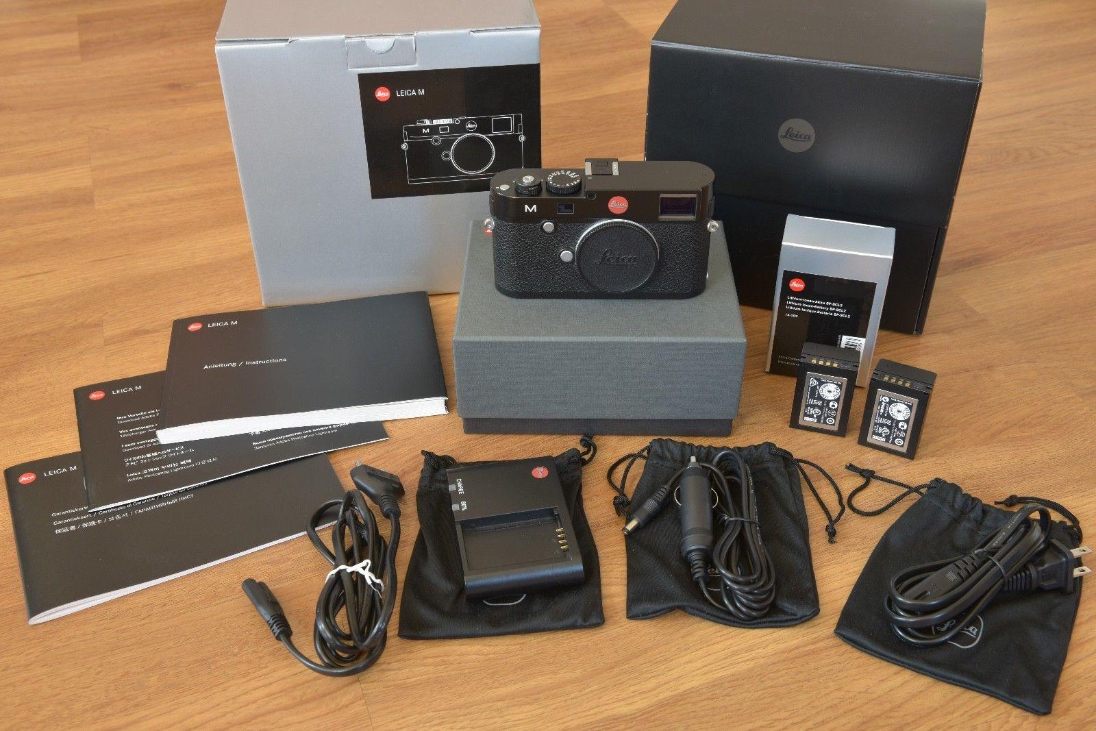 Leica M (Typ 240) 24.0 MP Digitalkamera - Schwarz, sehr gut