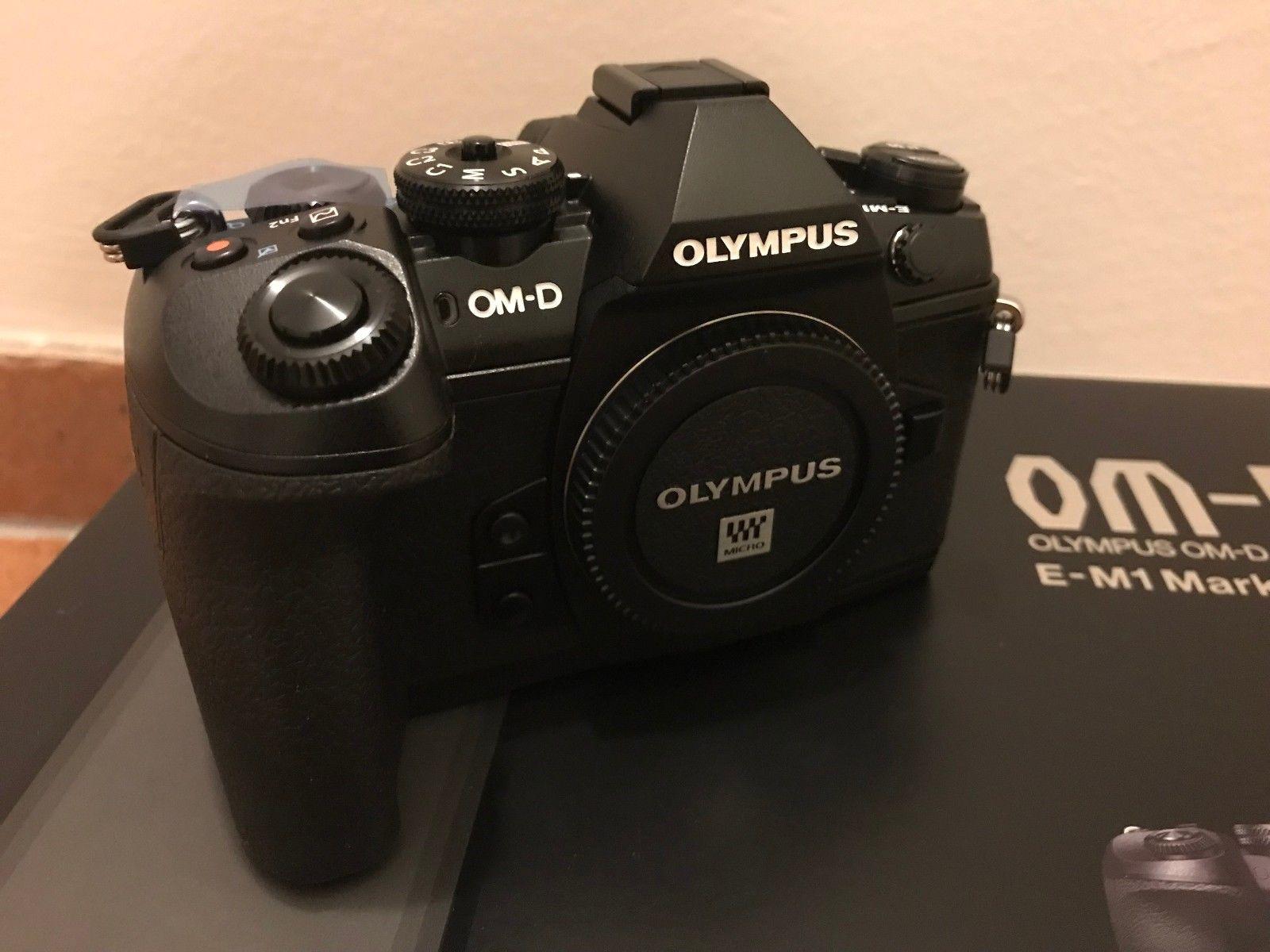 Olympus OM-D E-M1 Mark II Body (20.4 MP, unbenutzt aus Kitkauf)