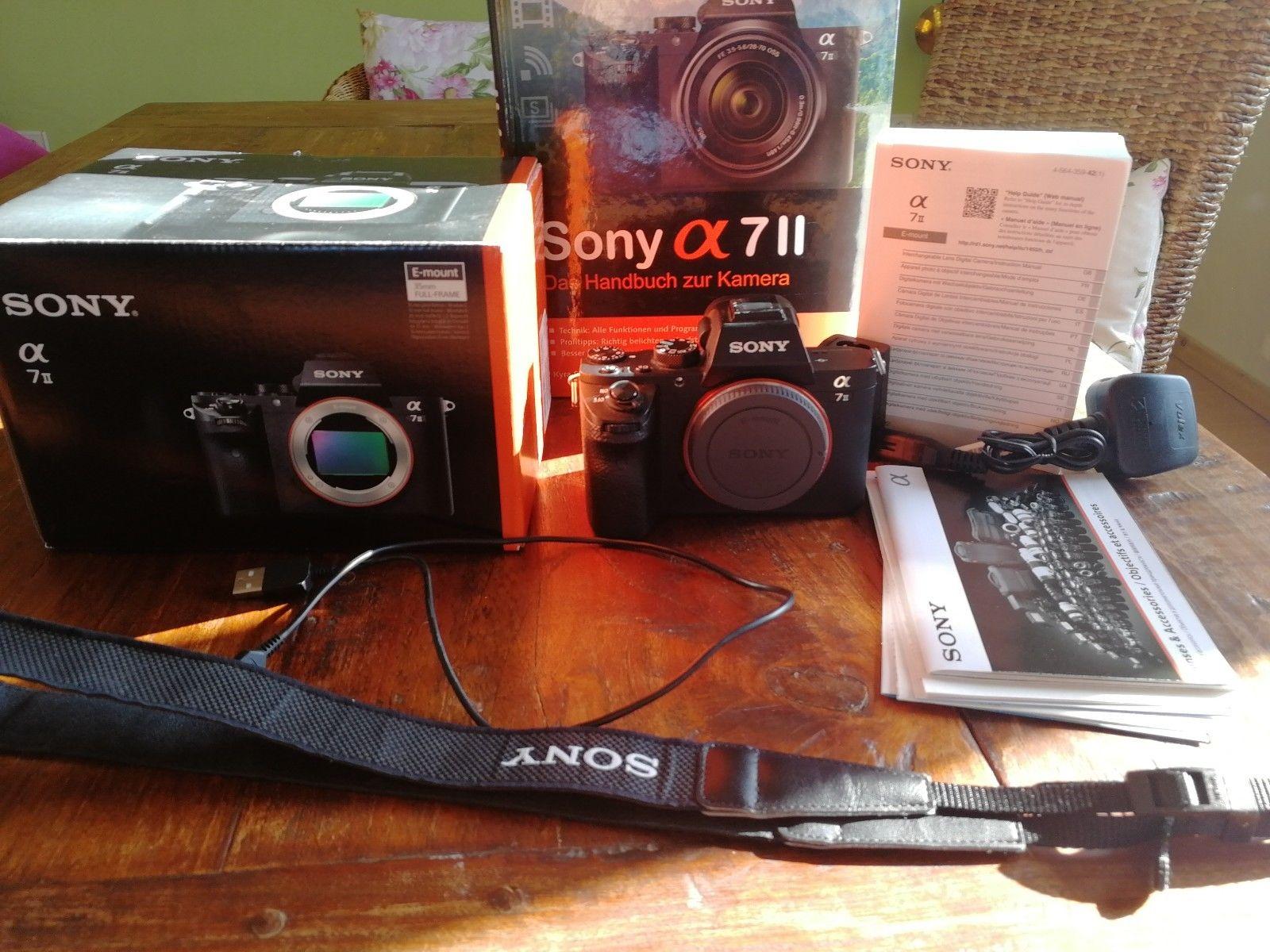 Sony a7 II (Body only in OVP) Sony alpha 7 Mark 2