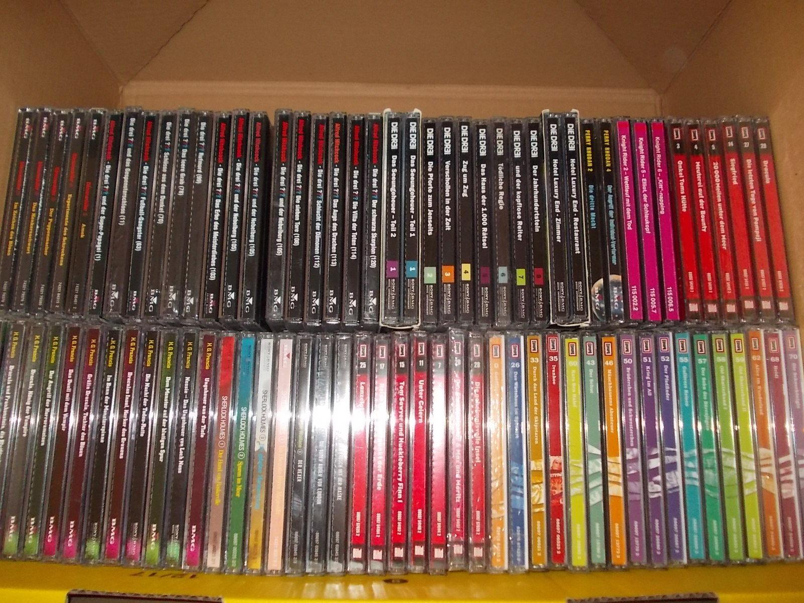 83 CD Hörspiele * Europa RDK * Gruselserie, Die Originale, Perry Rhodan, Dr3i um