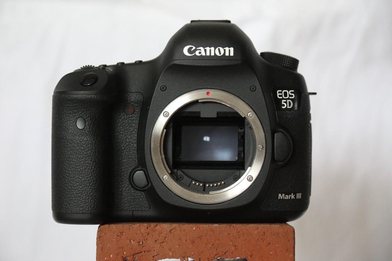 Canon EOS 5D Mark III - Schwarz (Nur Gehäuse) Nur 3711 Auslösungen !!!