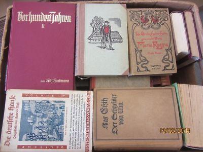 47 Bücher antiquarische Bücher Paket 1