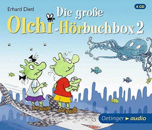 Die große Olchi-Hörbuchbox 2 (4 CD): Hörspielbox, ca. 277 min.