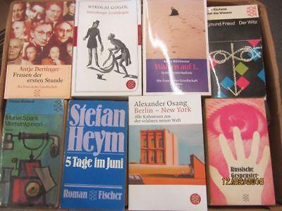 117 Bücher Taschenbücher Fischer Verlag