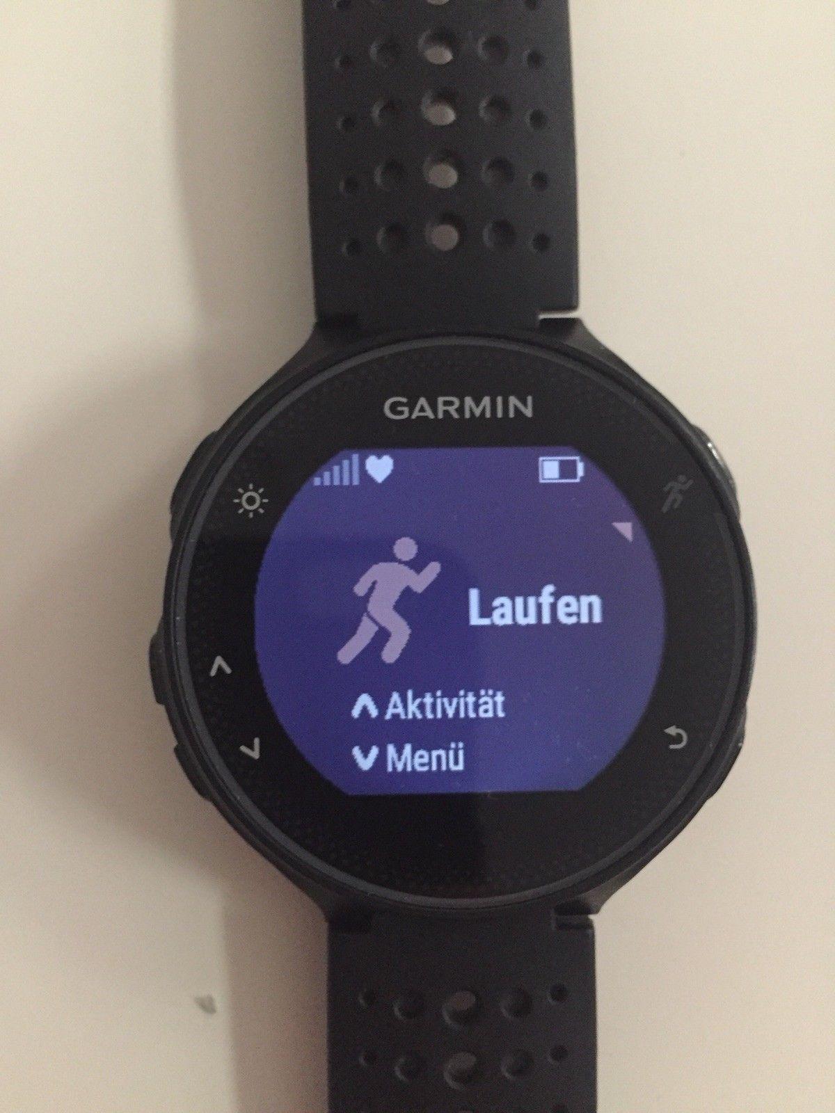 Garmin Forerunner 235 GPS-Sportuhr schwarz