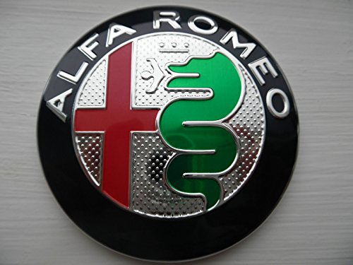 ALFA ROMEO frontgrills motorhaube oder Heckklappe logo emblem GIULIETTA 159 MITO 147 GT NEUE VERSION GIULIA 2016