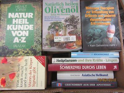 38 Bücher Gesundheit Medizin Selbstheilung Naturmedizin Naturheilkunde