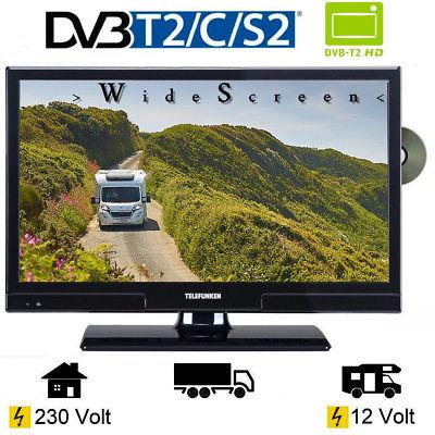 Telefunken L20H270 DVD LED TV 20 Zoll DVB/S/S2/T/T2/C,  USB, 12 Volt 230V