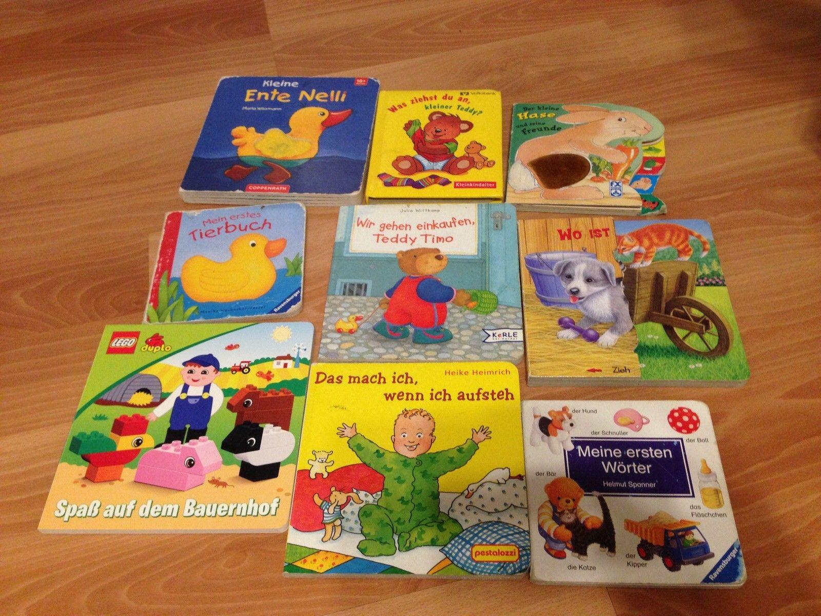 Kinderbücher Paket, 9 Stück