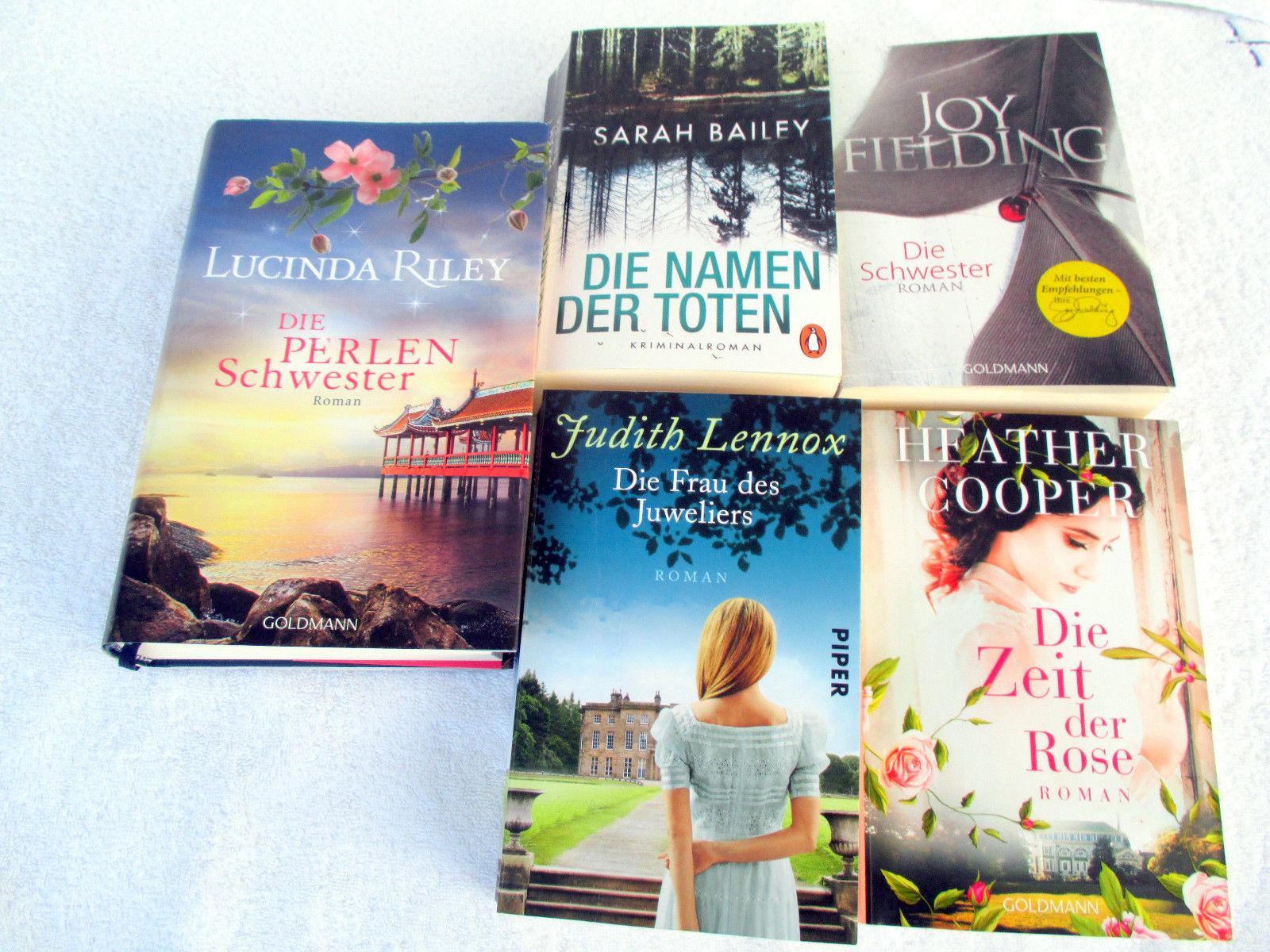 Großes Buchpaket 5 x Lesefreude ** DIE PERLENSCHWESTER, Die Frau des Juweliers..