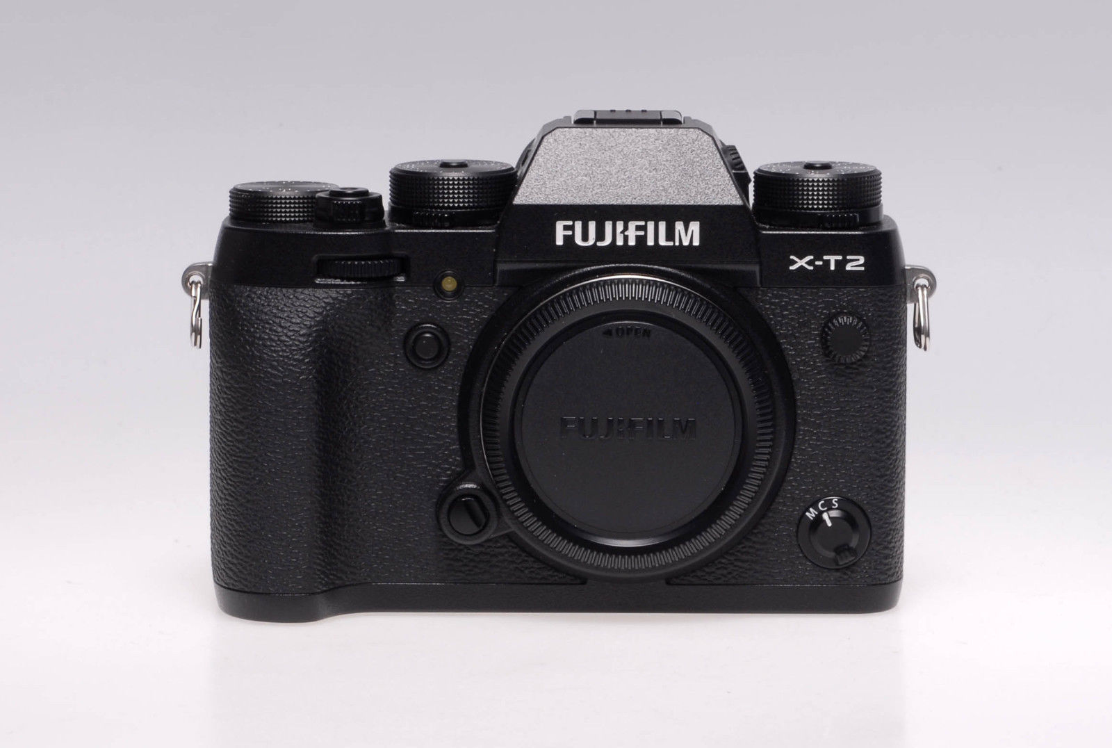 Fujifilm X series X-T2 24.3MP Digitalkamera - Schwarz - Gehäuse - gebraucht