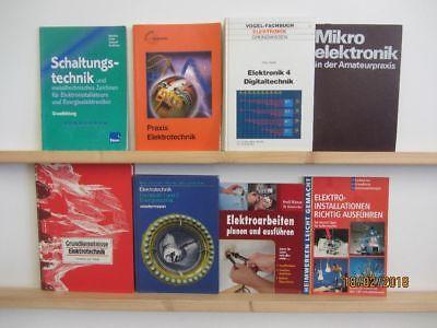 47 Bücher Elektronik Elektrotechnik Schaltungstechnik Elektroinstallationen
