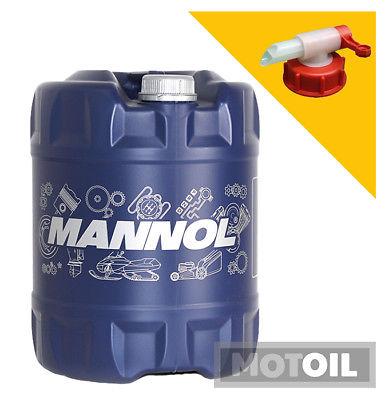 10W-40 Motoröl 20 Liter MANNOL Defender + HAHN VW 501 505 MB 229.1 ACEA A3 B3 SL