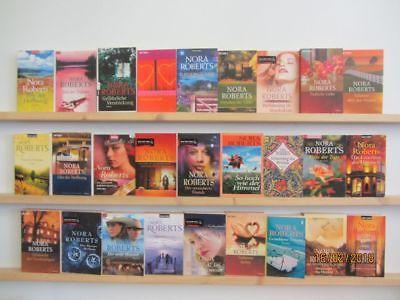 Nora Roberts 35 Bücher Romane romantische Romane Top Titel Bestseller