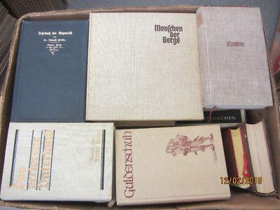 44 Bücher antiquarische Bücher