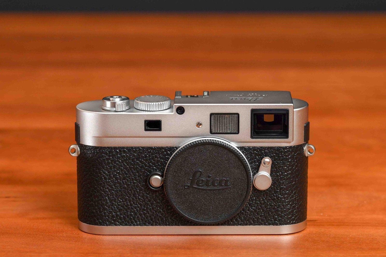 Leica M M9-P silber - 18.0MP Digitalkamera - Nur 1.820 Auslösungen!