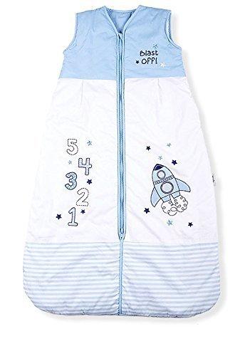 Baby-Schlafsack, Raum Abblasen, Kiddy Kaboosh Verschiedene Größen Mittelgewicht, 2.5 Tog, Größe 4: 3-6 Jahre, Gemütlich & Sicher, Perfekte Geschenke, Maschinenwaschbar
