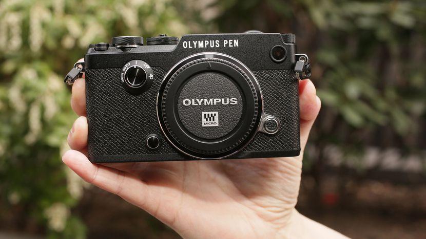 Olympus PEN-F 20.3MP Digitalkamera - Schwarz