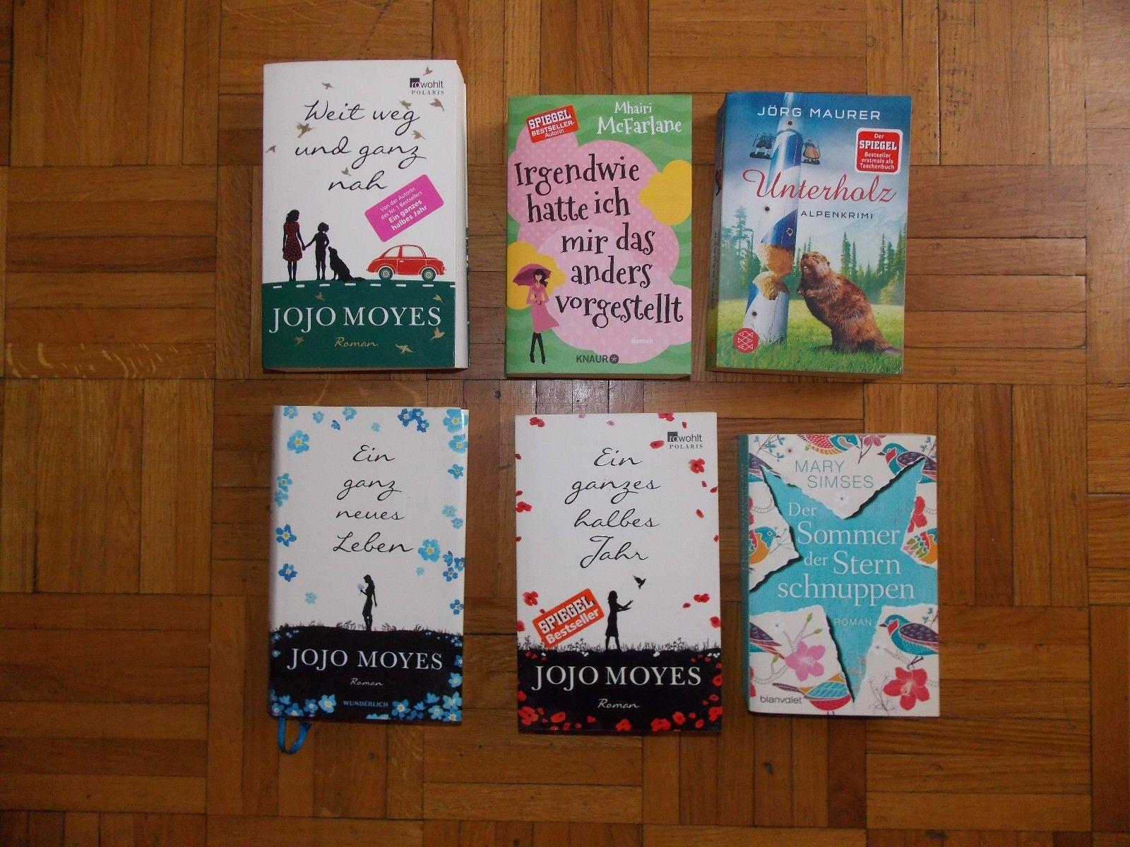 Bücherpaket, 6 Bücher (JoJo Moyers...)
