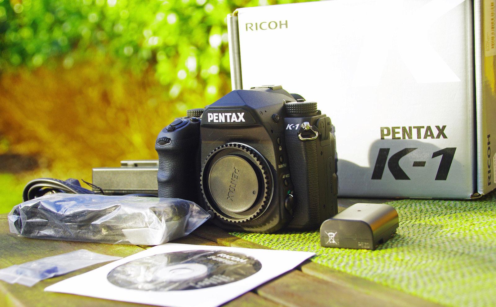 RICOH PENTAX K-1, wenig benutzt (131 Auslösungen), Rest-Garantie, Zubehörpaket