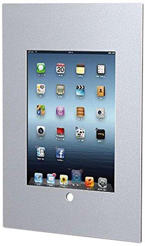 TabLines TWE050 SILBER Tablet Wandeinbau, Metall, silber, 23,9 x 30,9 x 4,5 cm