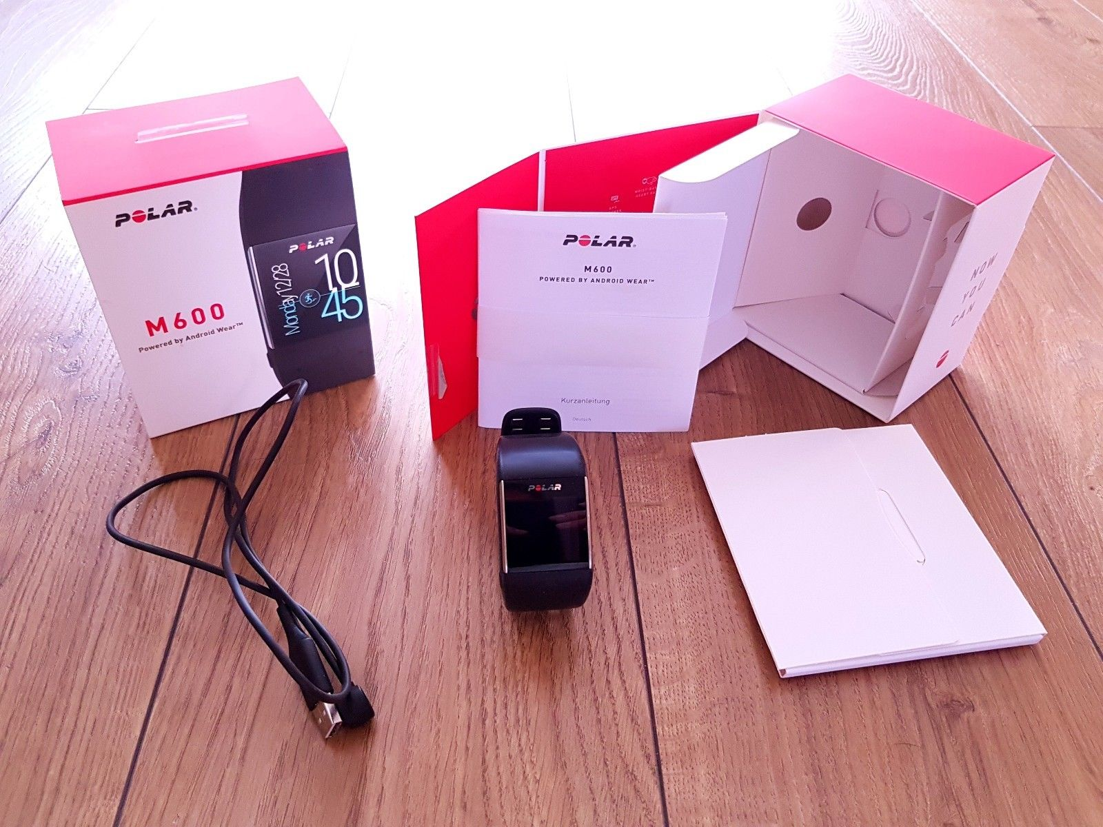 Polar M600 Smartwatch, GPS Sportuhr Herzfrquenz am Handgelenk und Fitnesstracker