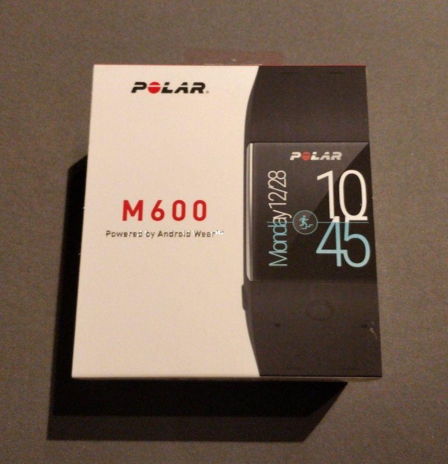 Polar M600 schwarz Sportuhr Fitness GPS 1.3