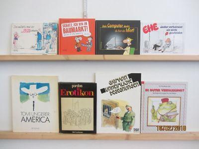 65 Bücher Karikatur Cartoon politische Karikaturen Cartoons
