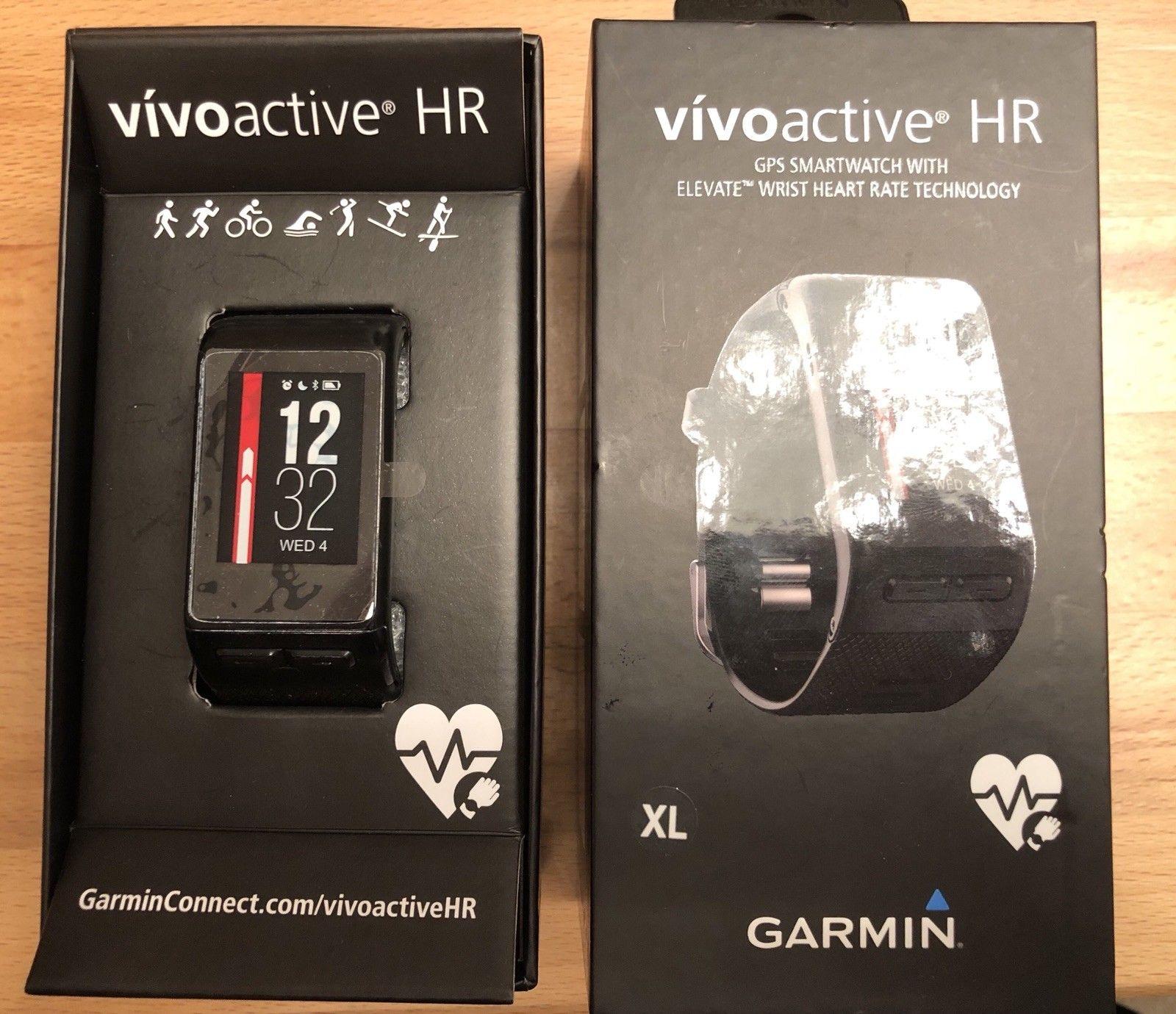 Garmin Vivoactive HR + Trittfrequenzmesser