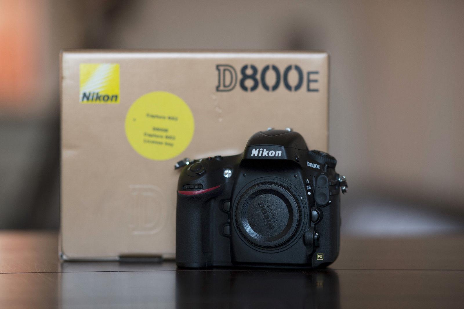 Nikon D D800E 36.3 MP SLR-Digitalkamera - Schwarz (Nur Gehäuse) mit 4282 Klicks!