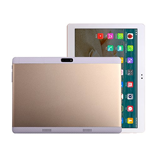 10 Inch Tablets PC Android 5.1 Octa Core 1280x800 IPS 3G Phone Call Dual Sim 4GB RAM 64GB ROM 10.1