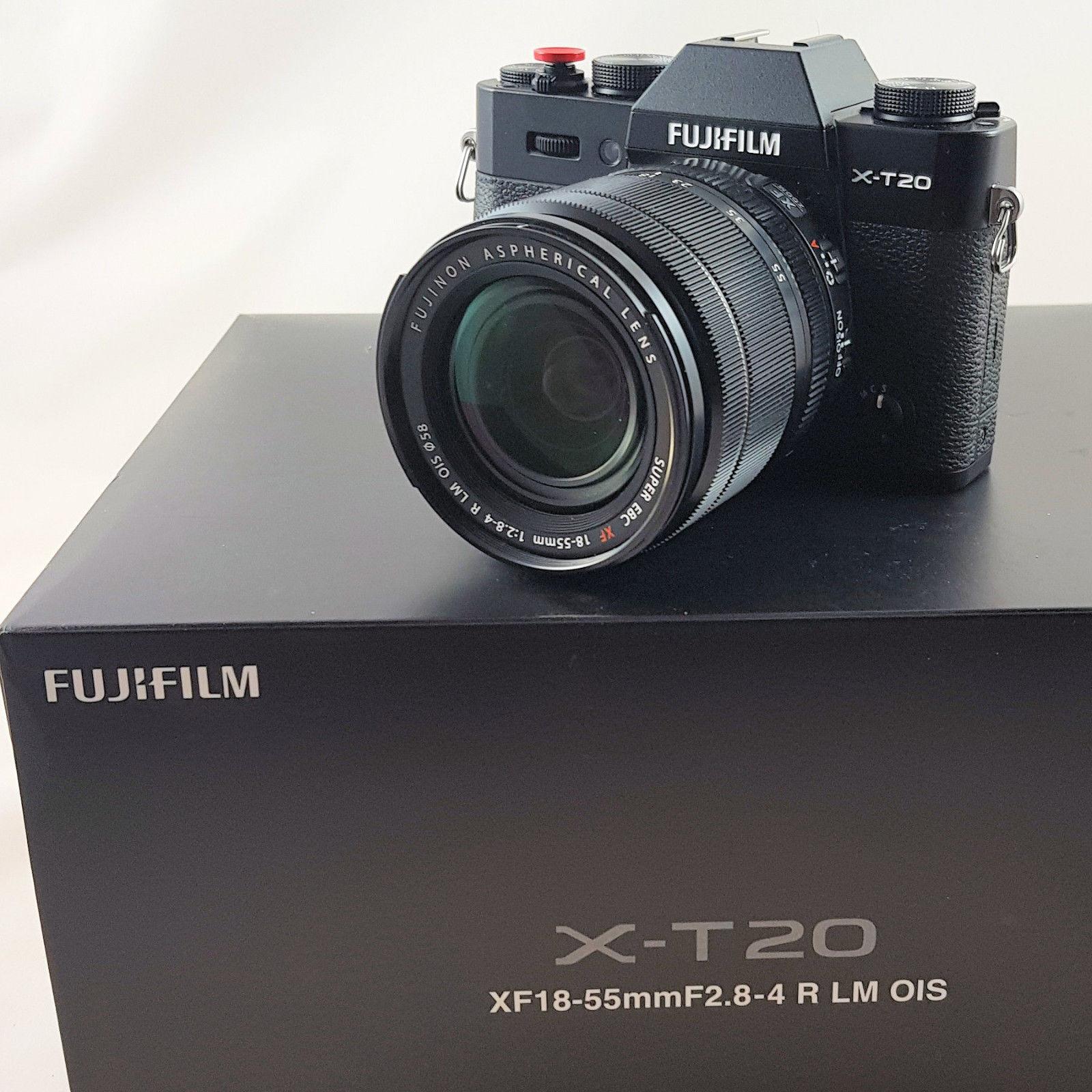 Fujifilm X-T20 mit XF18-55 F2.8-4 R LM OIS