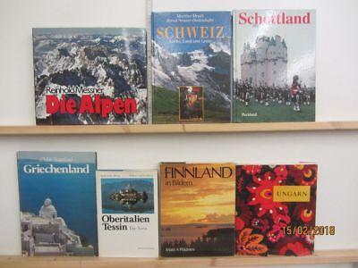 24 Bücher Bildbände Europa europäische Länder europäische Städte Paket 1