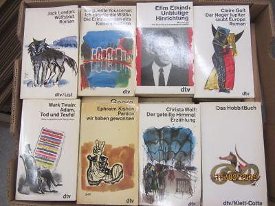 100 Bücher Taschenbücher dtv Verlag weiße dtv Taschenbücher