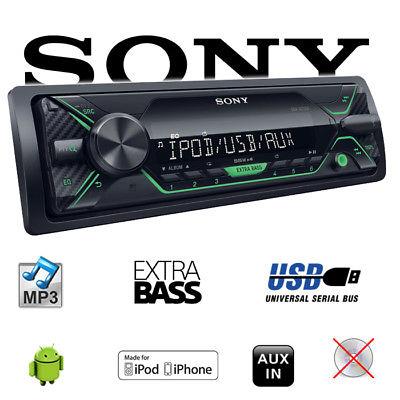 Sony DSX-A212UI - MP3 USB - Autoradio Radio 4x55Watt 12V Auto PKW KFZ Aux-IN