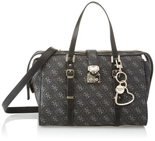 Guess Damen Bags Hobo Shopper, Grau (Coal), 17.5x21x30.5 centimeters