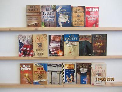 Ken Follett 17 Bücher Romane Krimi Thriller historische Romane Top Titel